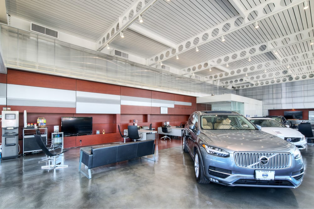 the showroom at volvo cars palo alto - yelp