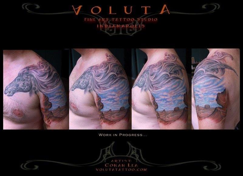Voluta tattoo 12 photos 17 reviews tattoo parlours for Tenth street tattoo