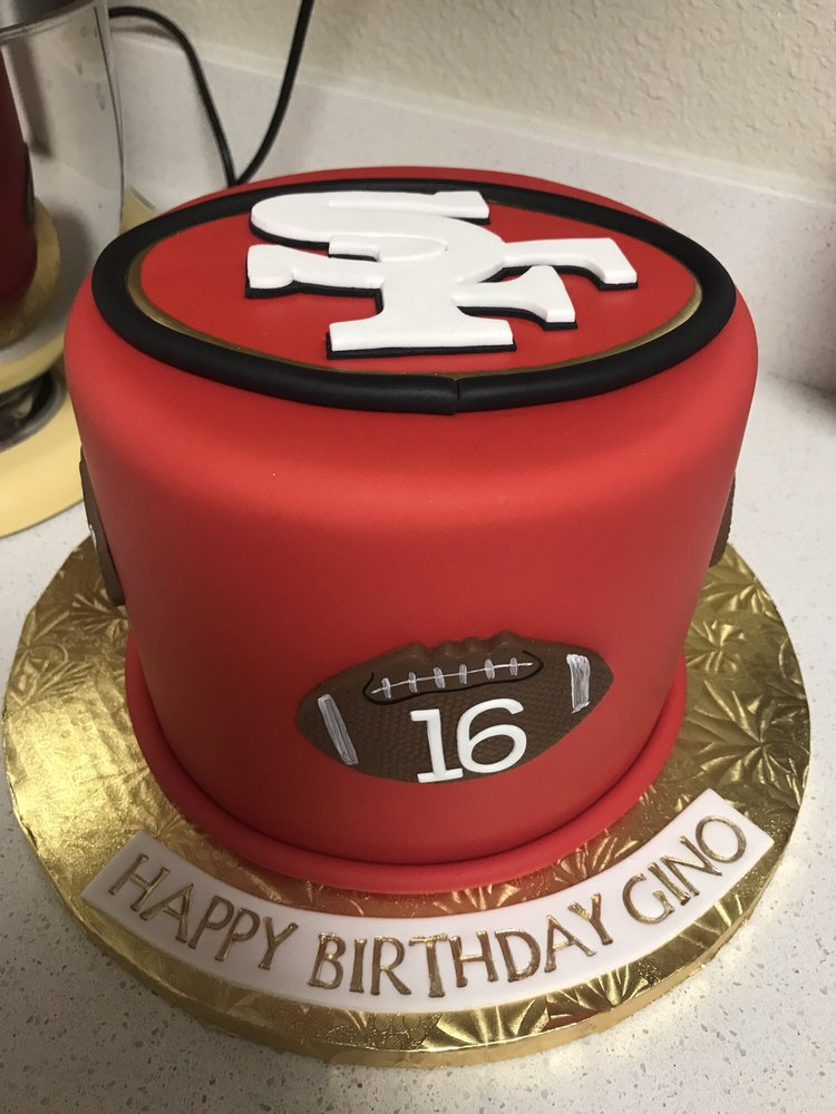 49er Sweet 16 Cake From Cake Queens Yelp