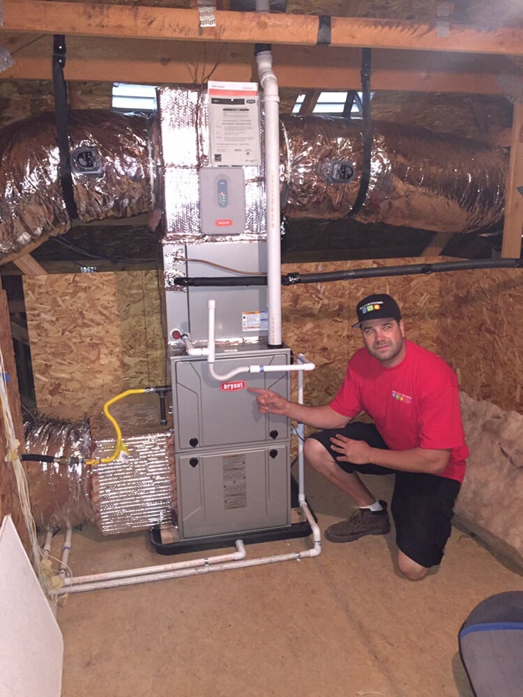 Bryant 2 Stage Variable Speed High Efficient Furnace And