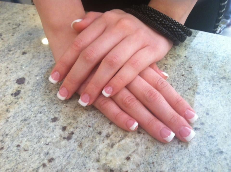 Gorgeous Pink And White Full Set Yelp