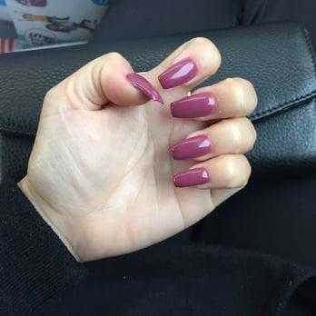 Natural nails salon reviews burlington wa united for Acrylic nails walmart salon