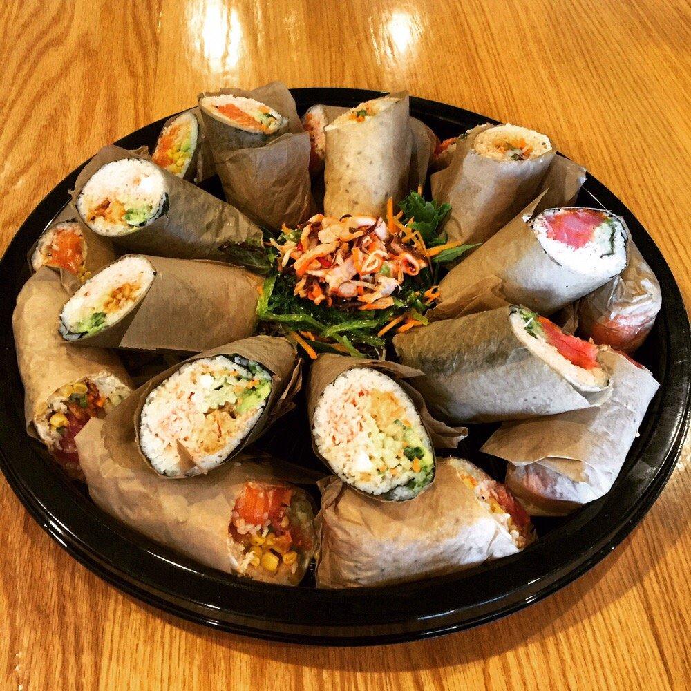 The Spot Sushi Burritos: 10500 Ulmerton Rd, Largo, FL
