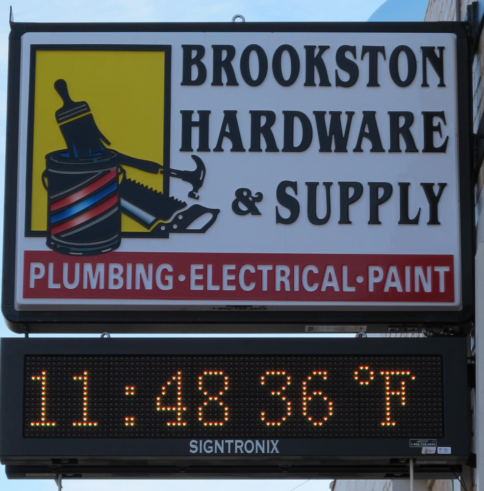 Brookston Hardware and Supply: 101 E 3rd St, Brookston, IN
