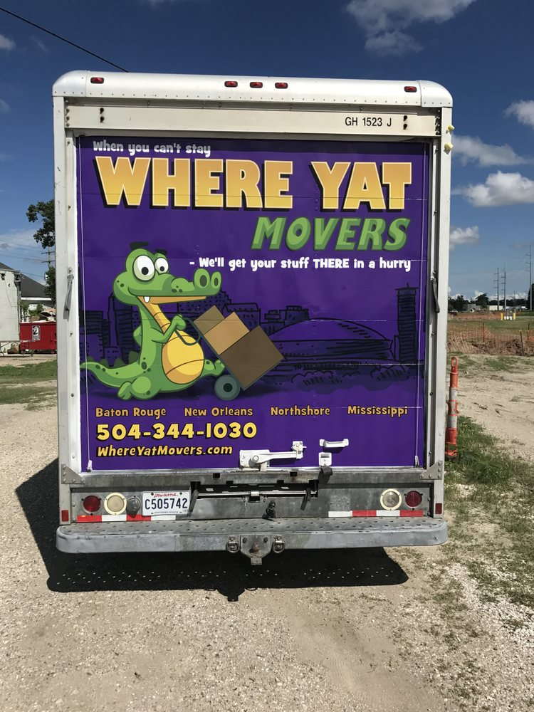 Where Y'at Movers: 231 1/2 Hickory Ave, Harahan, LA