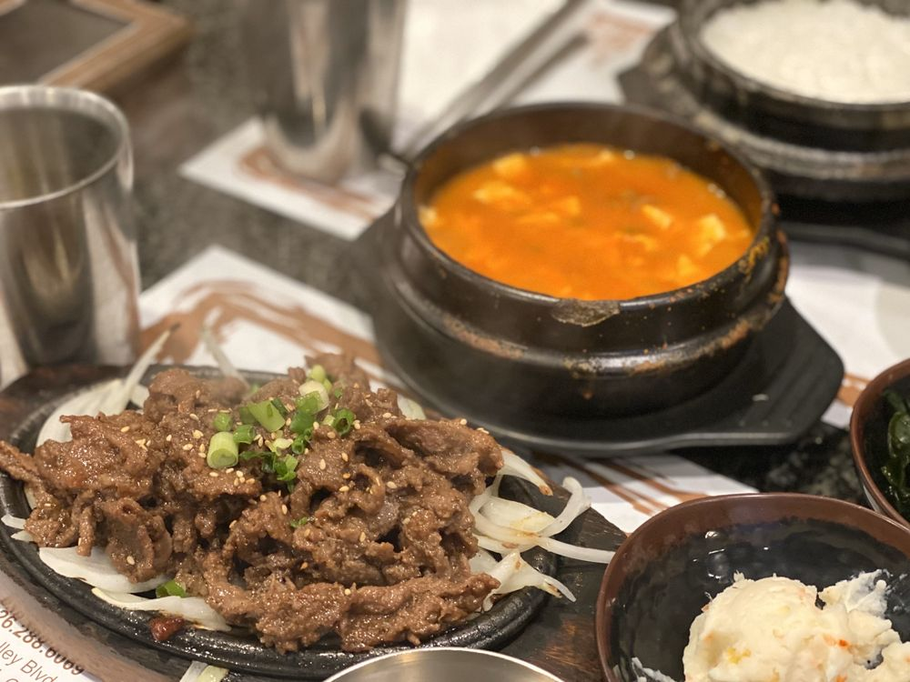Tofu Bean Korean BBQ