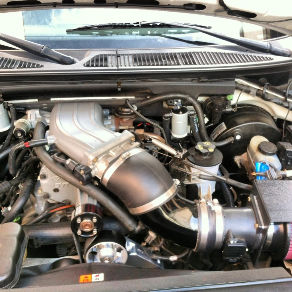 Ford Lightning Vmp Supercharger: Adding Horsepower On This Ford Lightning Added Cold Air