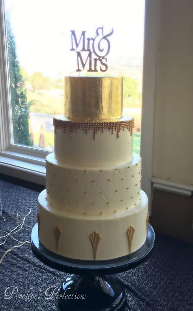 Cake And Art Yelp : 1920 s Art Deco Wedding Cake - Yelp