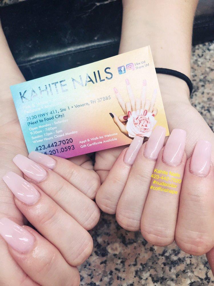 Kahite Nails: 2130 US-411, Vonore, TN