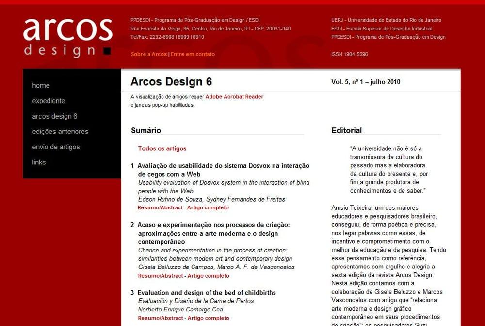 Revista Arcos - revista acadêmica online, da ESDI/UERJ - Yelp
