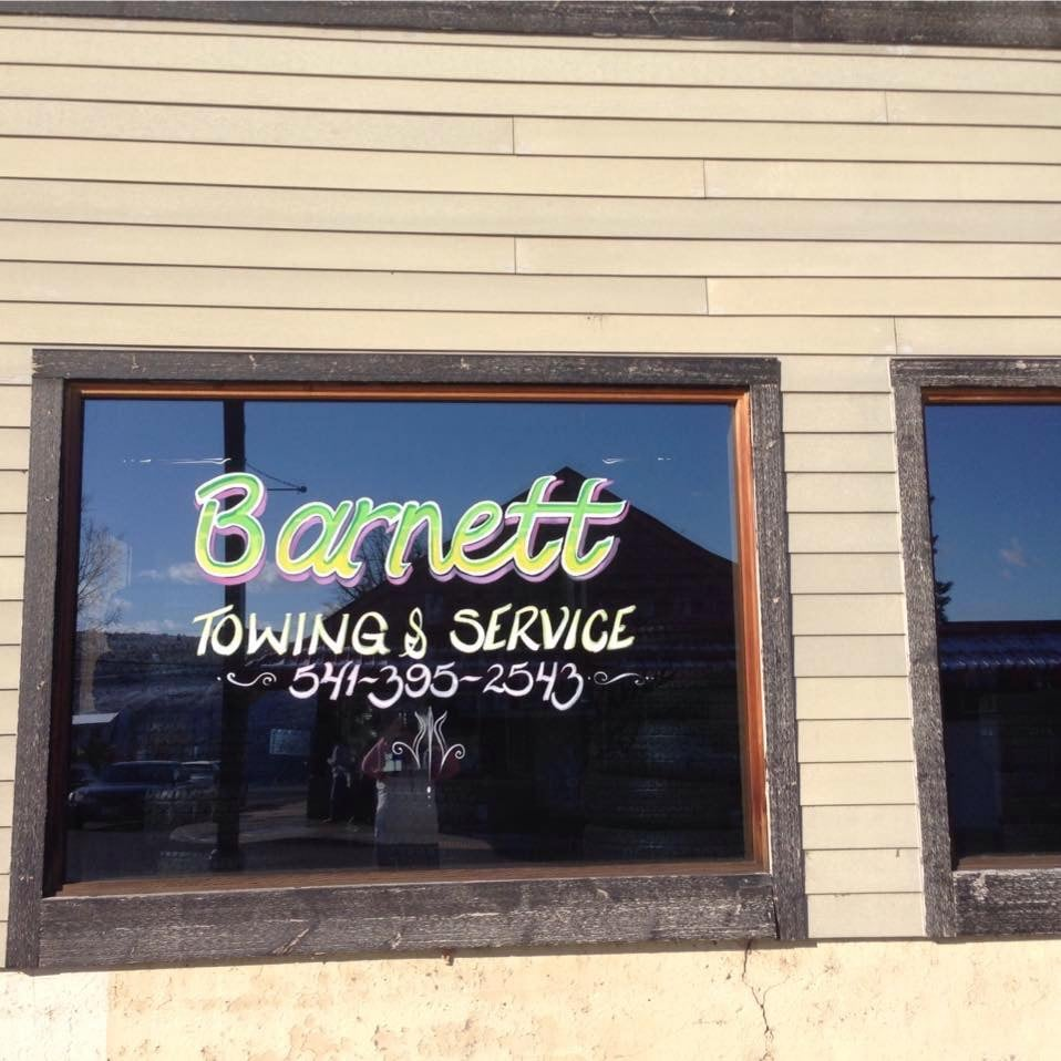 Barnett Towing & Service: 412 Deschutes Ave, Maupin, OR