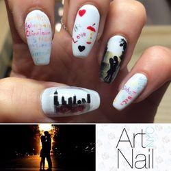 Art nail nyc 121 photos nail salons 290 mulberry st nolita photo of art nail nyc new york ny united states custom hand prinsesfo Image collections