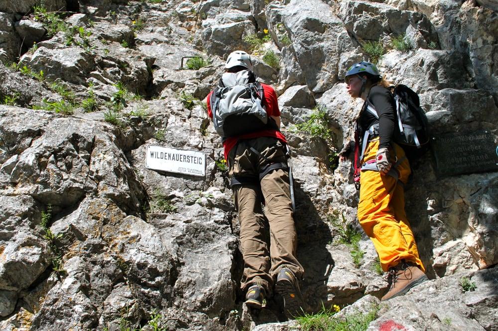 Klettersteig Niederösterreich : Leopoldsteinersee der schönste see für klettersteig fans travel