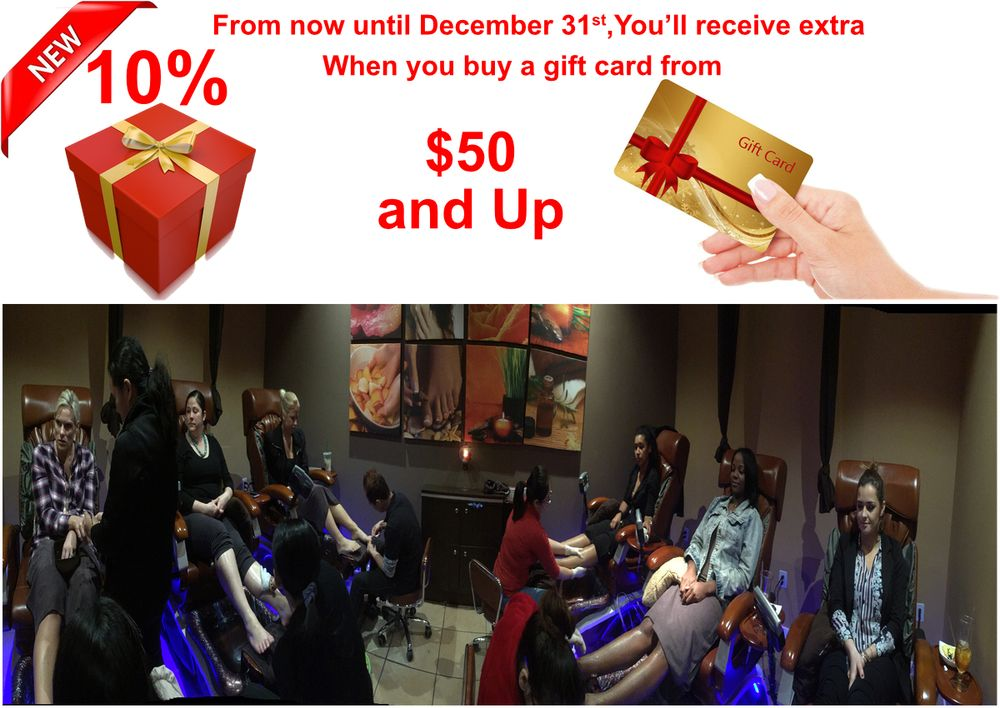 Escape Spa & Nail Salon: 7009 Three Chopt Rd, Richmond, VA