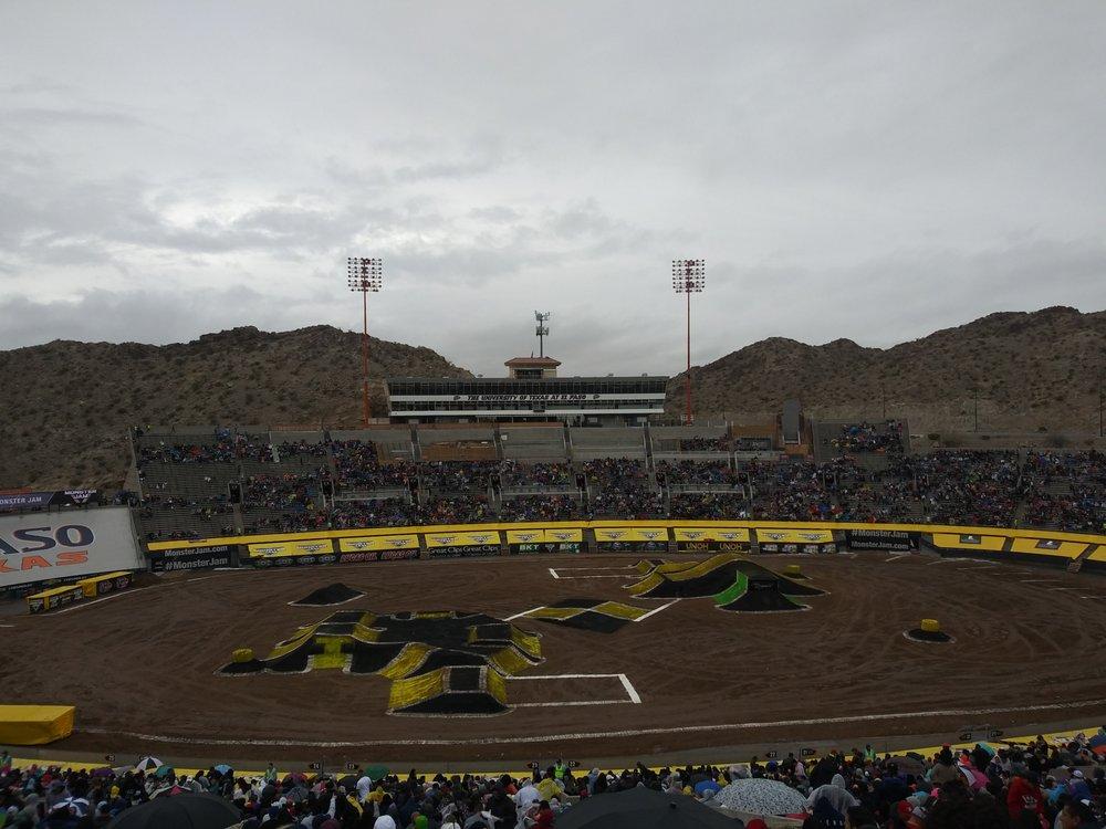 Monster Jam: 2701 Sun Bowl Dr, El Paso, TX