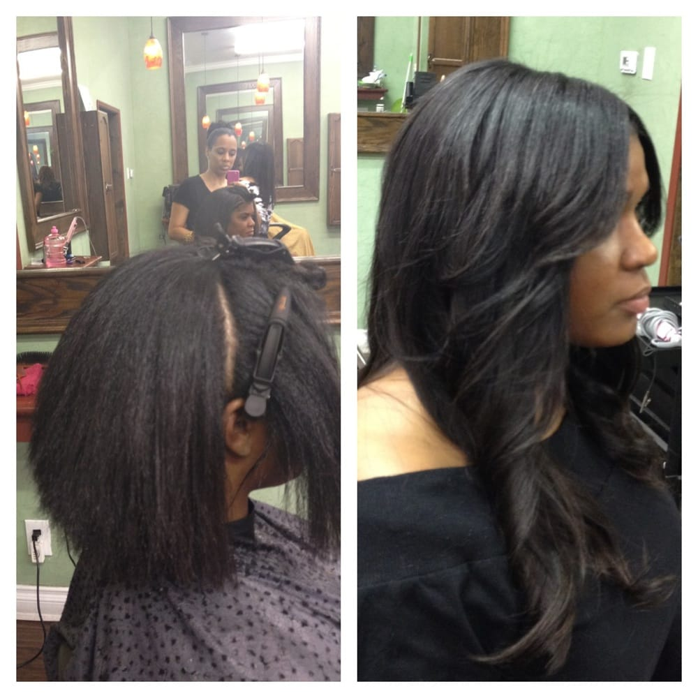 Love My Extensions By Tanya At Dreamgirls Salon I Got A Full Weave