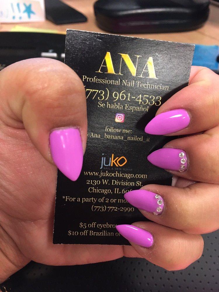 Look at that nail shape! Ana banana is my girl! - Yelp