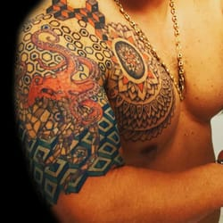 9012b26fc9423 Photo of Balinese Tattoo Miami - Miami, FL, United States. Geometric tattoo  by ...