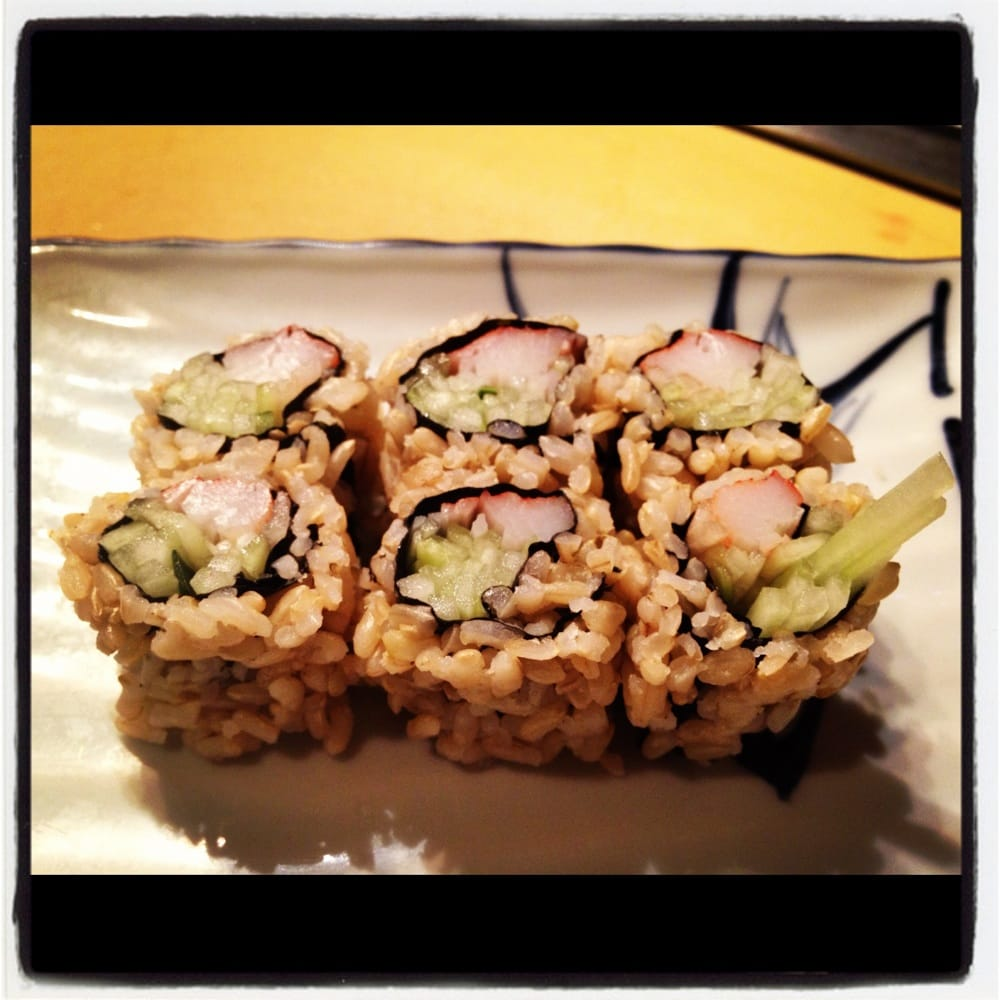 Brown Rice California Roll Yelp