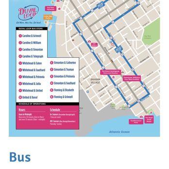 duval loop bus route key west