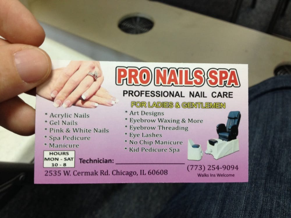 Photos for Pro Nails Spa - Yelp