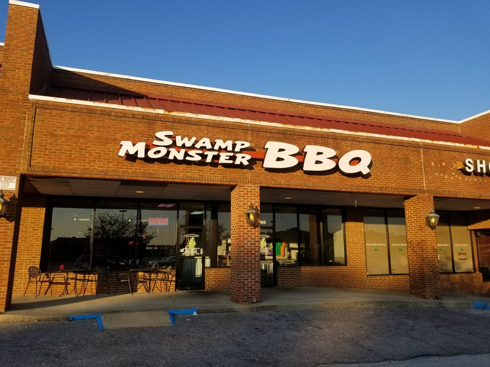 Photo of Swamp Monster BBQ - Birmingham, AL, United States. Swamp Monster BBQ