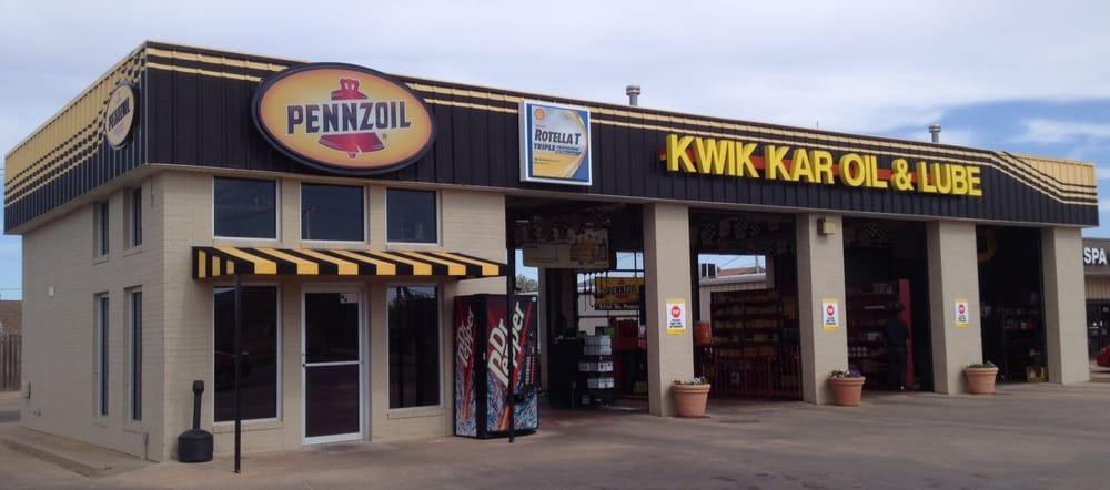 Kwik Kar Oil & Lube: 2100 N Main St, Altus, OK