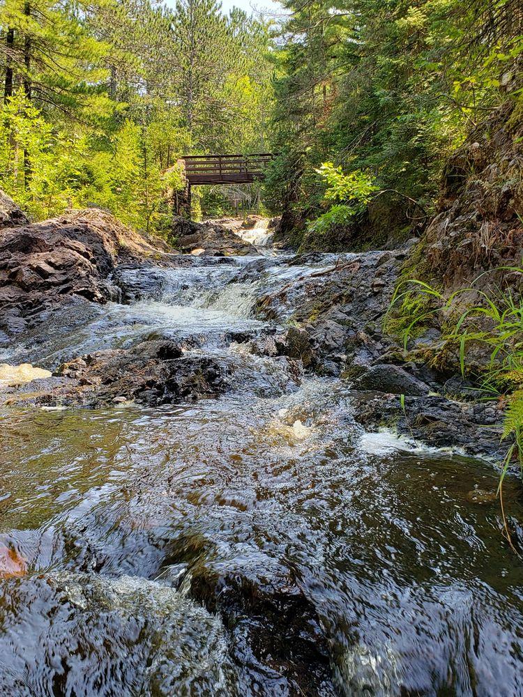 Amnicon Falls State Park: 4279 S Oty Trk U, South Range, WI