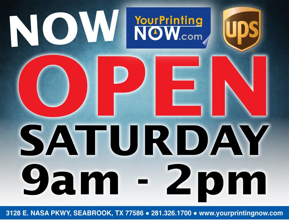 Your Printing Now: 3128 Nasa Rd 1, Seabrook, TX