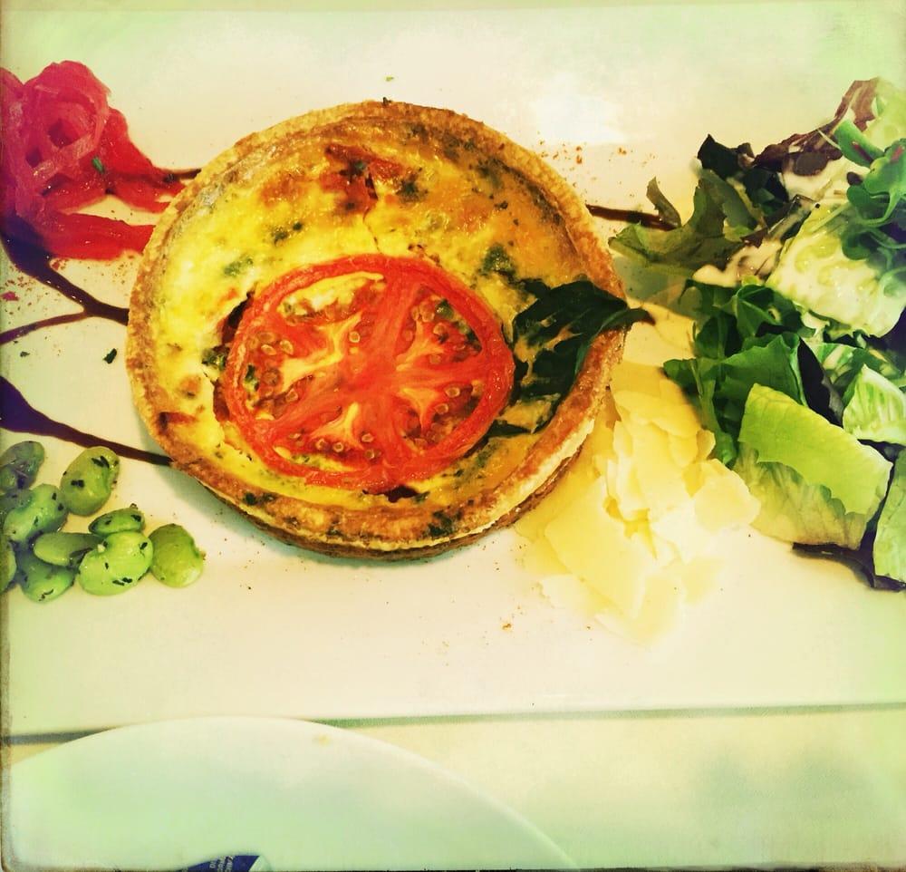 La Petite Maison Atlanta featured entree salad at le petite maison: beet and goat