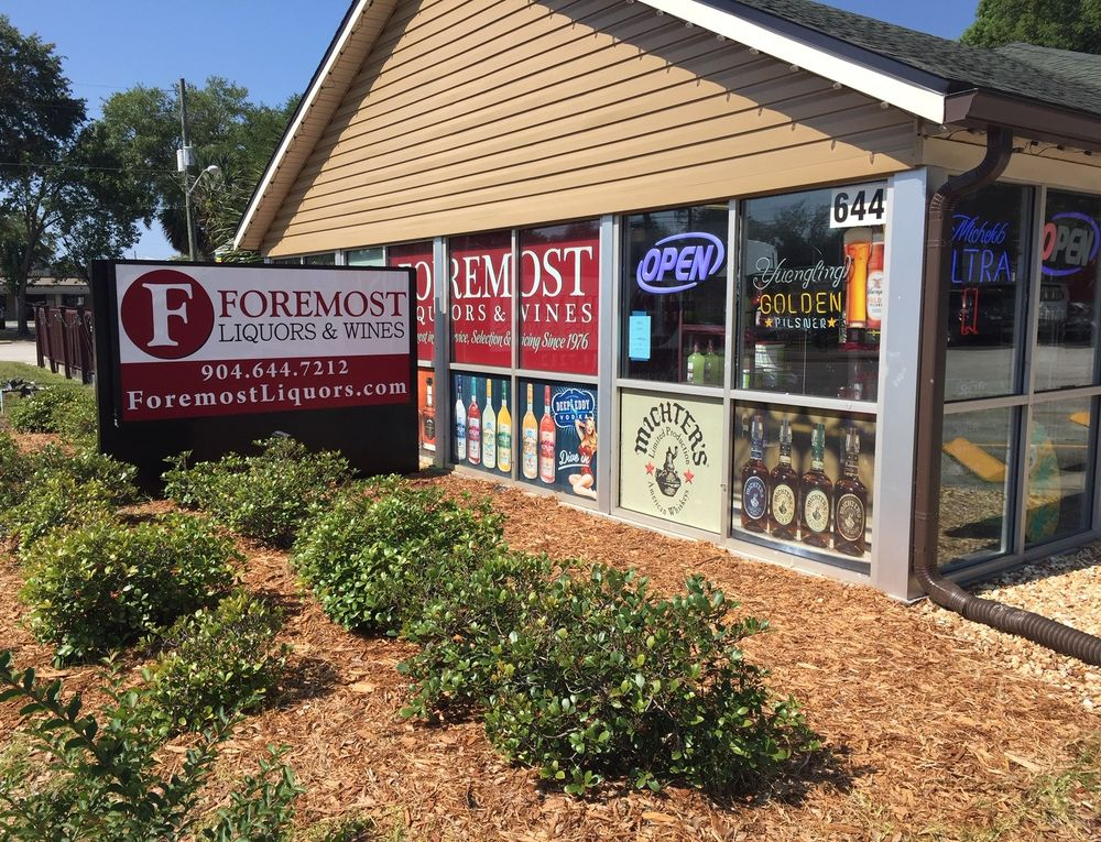Foremost Liquors & Wines: 644 Park Ave, Orange Park, FL