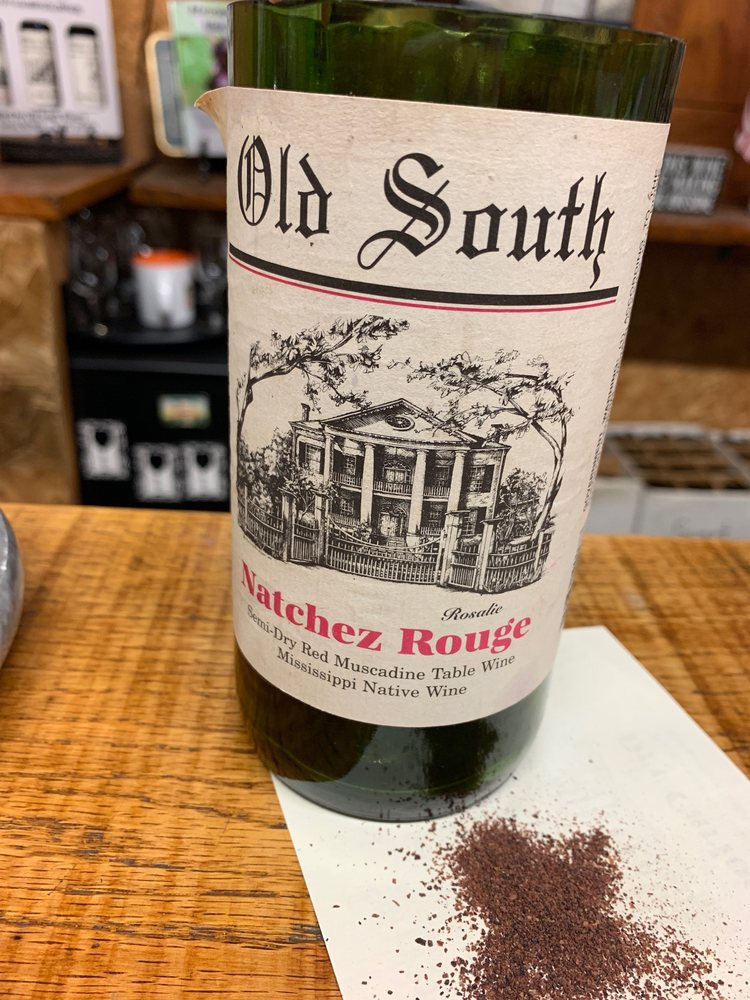 Old South Winery: 65 S Concord Ave, Natchez, MS