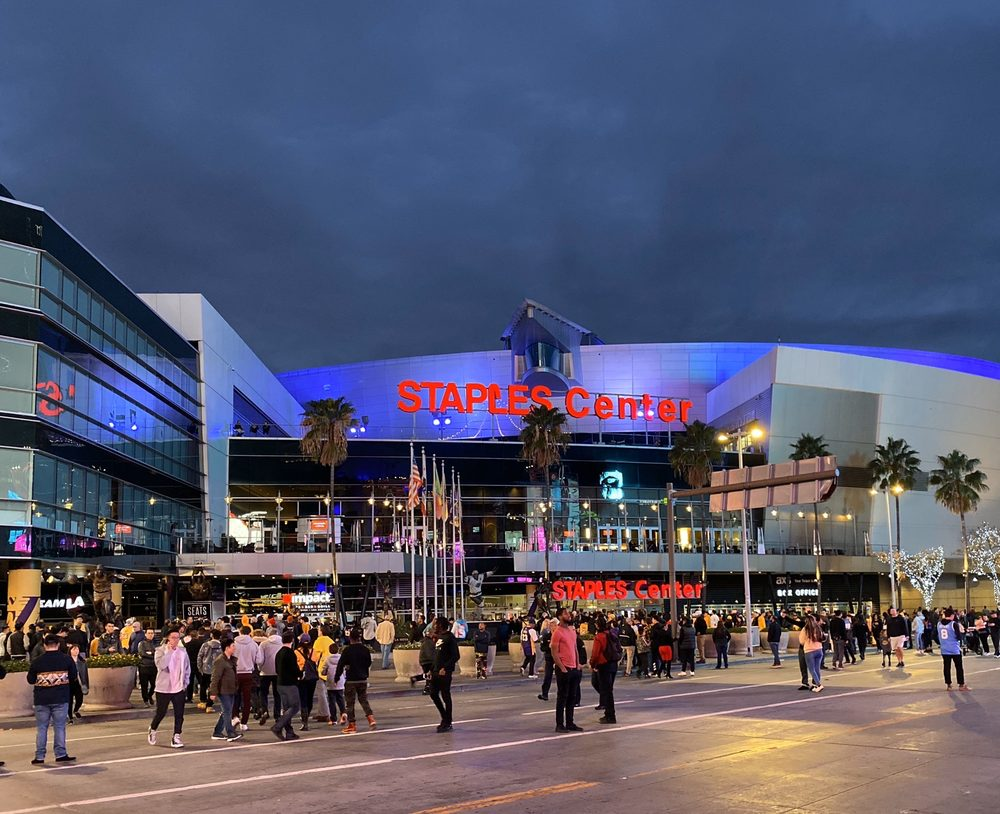 Social Spots from STAPLES Center