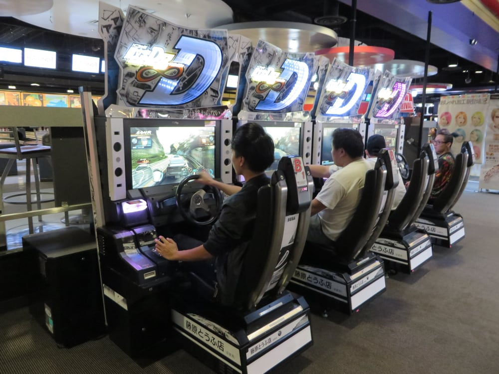 Initial D Arcade Stage 8 - Yelp