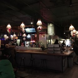 the hookup bar and restaurant