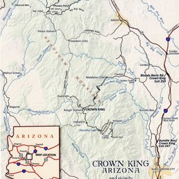 Map Of Crown King Arizona.Crown King Bunkhouse 457 Main St Crown King Az 2019 All You