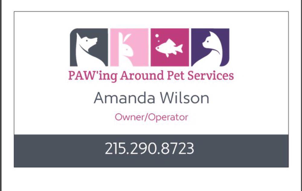 PAW'ing Around Pet Services: Ambler, PA
