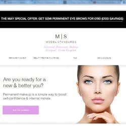 Model Standards - Permanent Makeup - 16a Mildenhall Road, Liverpool