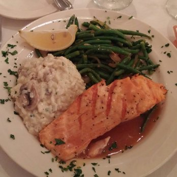 Photo Of Calamigos Equestrian Burbank Ca United States Salmon With Risotto And
