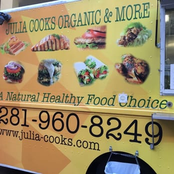 Julia Cooks Organic And More Food Truck