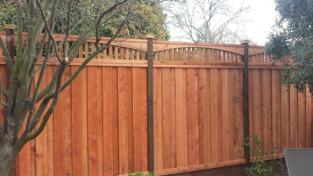 Novato Lumber Amp Fence Co Fences Amp Gates 7586 Redwood