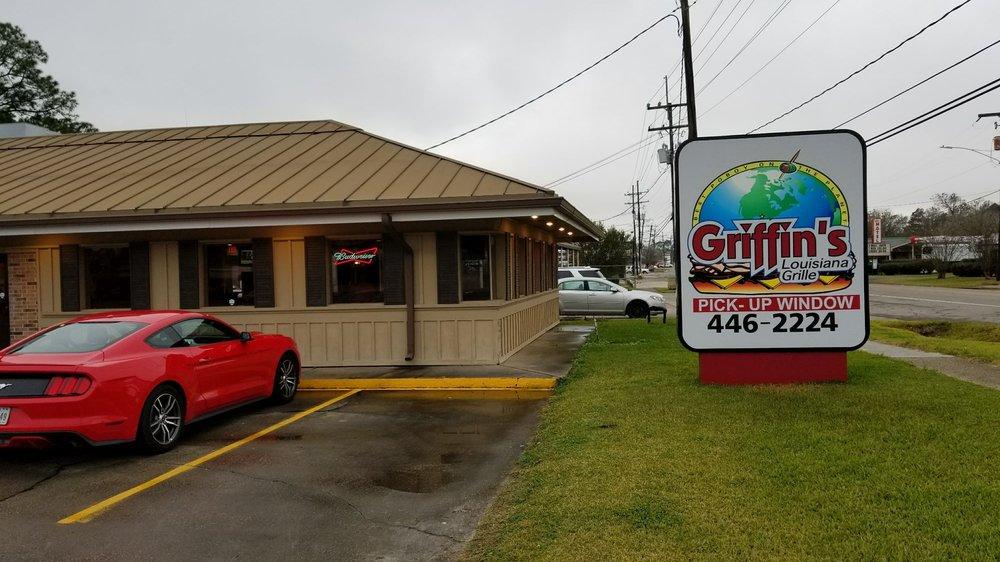 Griffin's Louisiana Grille: 523 Saint Mary St, Thibodaux, LA
