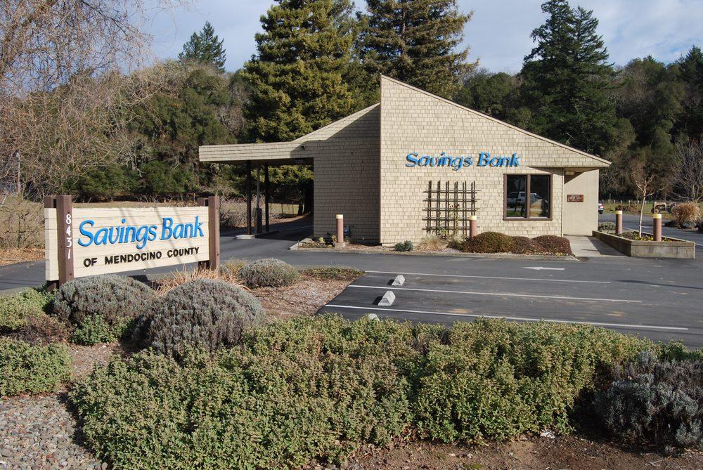 Savings Bank of Mendocino County | 8431 East Rd, Redwood Valley, CA, 95470 | +1 (707) 485-0381