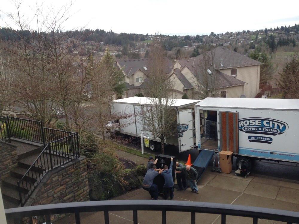 Rose City Moving U0026 Storage   Movers   5130 N Basin Ave, Overlook, Portland,  OR   Phone Number   Yelp