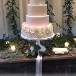 Photo Of Two Sweet Sparrows   Asheville, NC, United States. Wedding Cake  From