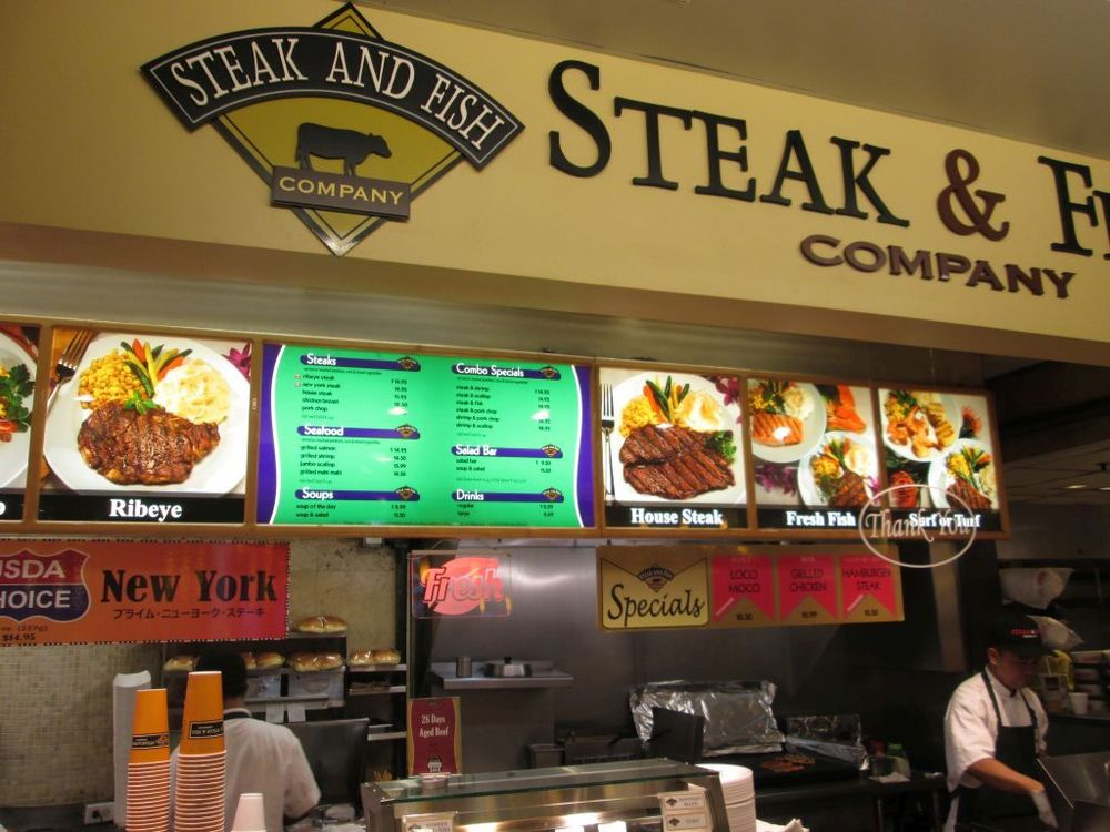 steak fish company 58 33 1450 ala moana