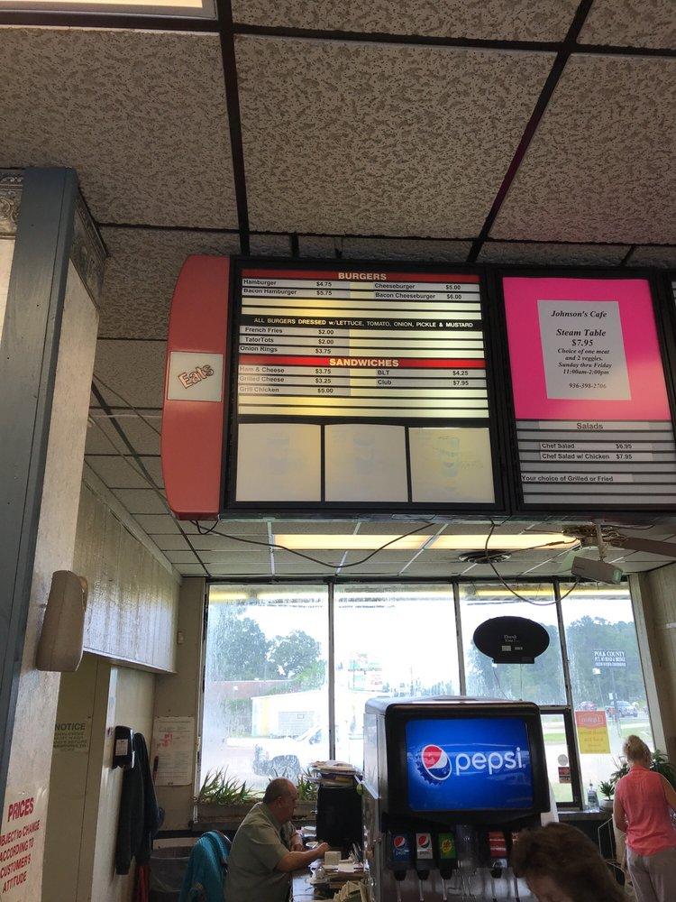 Johnson's Cafe: 923 S Home St, Corrigan, TX