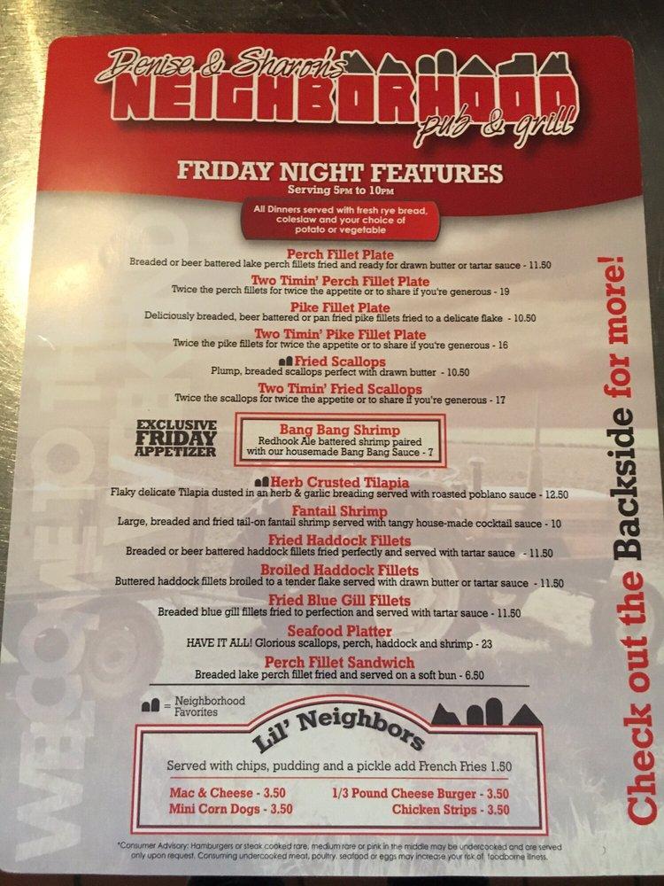 Neighborhood Pub & Grill: N 5091 County Road Bb, Chilton, WI