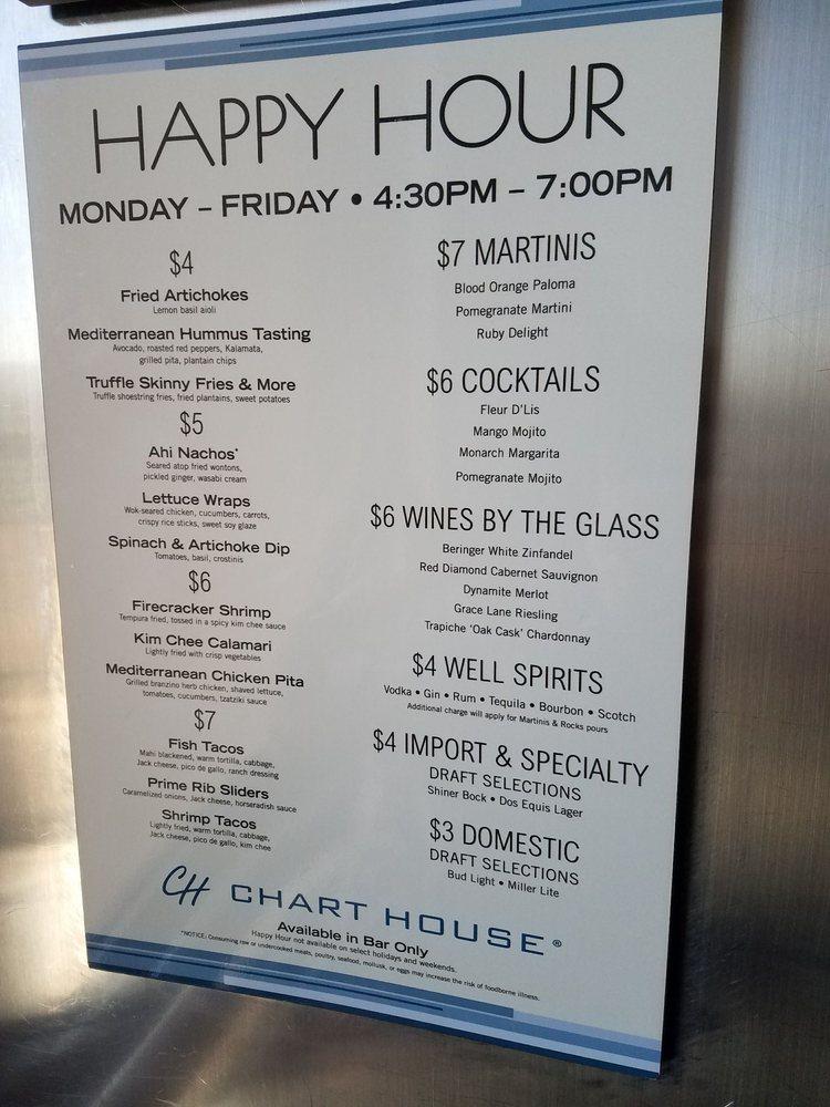 Happy hour menu is fantastic yelp