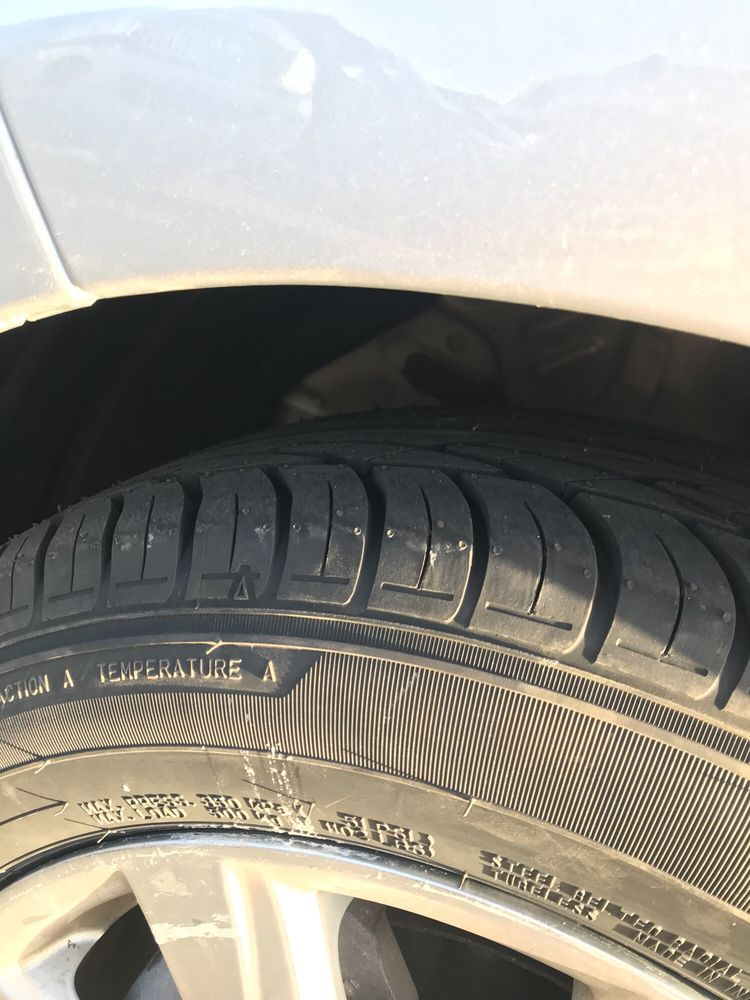 My New Tires Yay Yelp